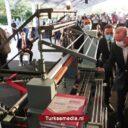 Turkse president opent 300 nieuwe fabrieken tegelijk