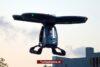 Turkse vliegende auto succesvol de lucht in