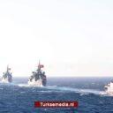 Turkse zeemacht viert 939 jarig bestaan