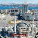 Bouw moskee Taksimplein nadert einde