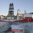 Turkije ontdekt bijna 100 miljard kuub gas extra onder Zwarte Zee