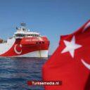 Turks schip naar legaal zeegebied voor zoektocht naar olie en gas