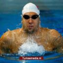 Turkse zwemmer breekt Europees record