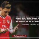 Mesut Özil geeft de wereld lesje Islam