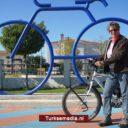 Nederlandse vrouw (62) fietst naar Turkije