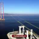 Nieuwe Turkse megabrug laat Eiffeltoren achter zich