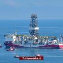 Turkije boort nieuwe put in gasveld Zwarte Zee
