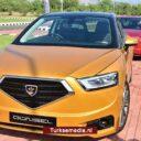 Turks-Cyprus toont eigen auto: 'Günsel'