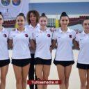 Turkse dames Europees kampioen gymnastiek