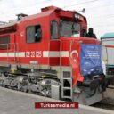Eerste Turkse vrachttrein rechtstreeks naar China