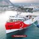 Turkije boort verder en dieper in Middellandse Zee