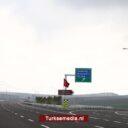 Turkije rondt volgend groot snelwegproject af: 330 nieuwe slimme kilometers