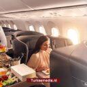 Turkish Airlines uitgeroepen tot meest comfortabele airline met beste maaltijden