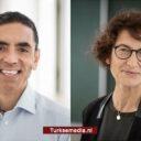 Turkse vaccinuitvinders Şahin en Türeci bekroond tot 'Mensen van het Jaar'