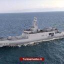 Turkije bouwt vijfde groot marineschip voor eigen zeemacht