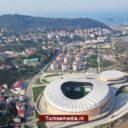 Turkije opent nieuw voetbalstadion in Giresun