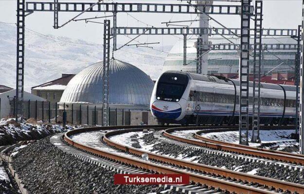Turkije test nieuwe hogesnelheidslijn van 405 kilometer
