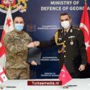 Turks leger doneert materieel aan Georgië