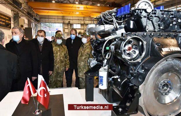 Volgende droom komt uit: Turkije toont eigen krachtige motoren