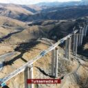 Turken bouwen hoogste viaduct tussen Konya en Antalya