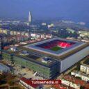 Turkije opent uniek voetbalstadion met wandelroute op dak