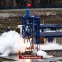 Turkije test hybride raketmotor