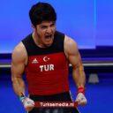Turkse gewichtheffer beste van Europa