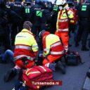 Duitse politie verwondt Turkse journalisten bij protesten in Berlijn