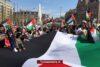 Grote groep in Amsterdam protesteert tegen Israël