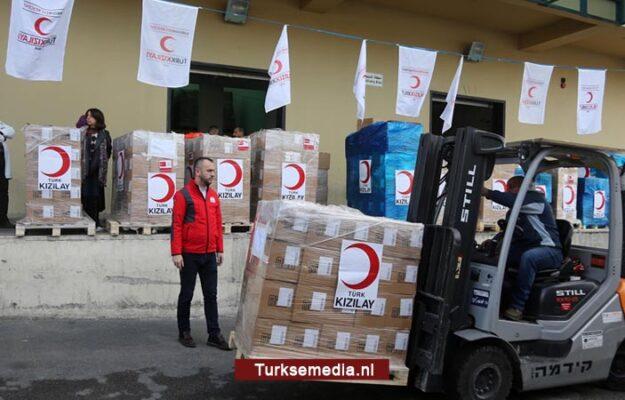 Turkije stuurt medische spoedhulp naar Palestina