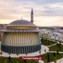 Moskee Turkse megaluchthaven meest duurzaam gebedshuis ter wereld
