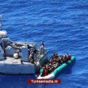 Turkse kustwacht redt opnieuw door Griekenland teruggeduwde vluchtelingen