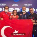 Turkse jonge worstelaars besten ter wereld
