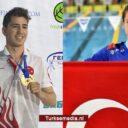 Turkse zwemmer (24) wereldkampioen, Turkse zwemster (16) beste van Europa