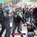 Fransen opnieuw massaal de straat op tegen prikdrang en zorgpas