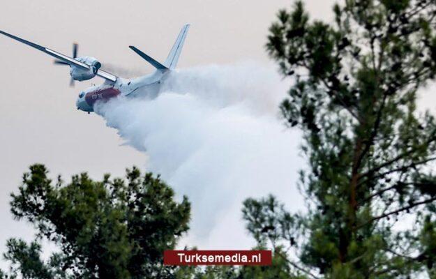 Turkije: 152 van 163 bosbranden onder controle, schades bekend
