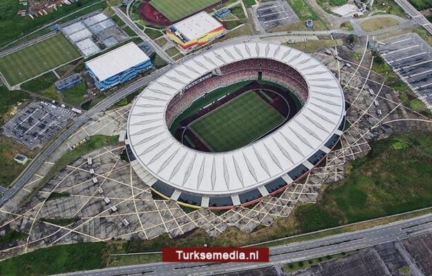 Kameroen geniet van door Turken gebouwd luxe stadion