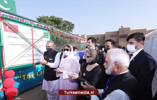 Turkije geeft Pakistan sportfaciliteiten voor speciale kinderen cadeau